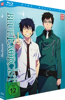 blue exorcist volume4